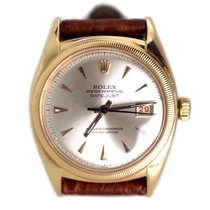 Rolex Date Just Ovettone Big Bubble Oro Giallo Ref. 6105