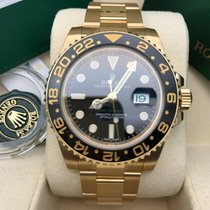 Rolex GMT-Master II, Yellow Gold, Black 116718LN