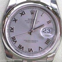 Rolex Datejust Mens Watch Stainless Steel 116200 Unworn Box...