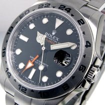 Rolex Explorer Ii 216570 Black Dial Mens 42 Mm Steel Oyster...