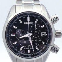 Seiko Grand Seiko Sbgc003 Spring Drive Chronograph Diver Black...