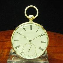 Pateck & Cie 800 Silber / Gold Mantel Open Face Taschenuhr...