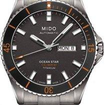 Mido Ocean Star Captain Titanium Automatik Herrenuhr M026.430....