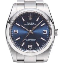 Rolex Oyster Perpetual 36mm Blau 116000