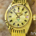 Rado Green Horse Automatic Gold Plated Ladies 1960s Dress...