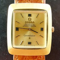 Omega Constellation Chronometer Gelbgold 18K 750 Vintage...