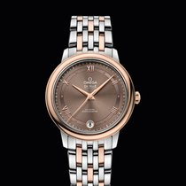Omega De Ville Prestige Co-Axial 32,7mm Steel/Red Gold Brown Dial
