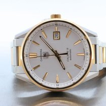 TAG Heuer Calibre 5 Carrera Automatic 18kt Gold & Steel...