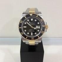 Rolex Submariner Steel/Gold /Original Diamond Black Dial