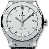 Hublot Classic Fusion Automatic Titanium 542.nx.2611.lr Silver...
