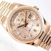 Rolex DAY-DATE PRESIDENT DIAMONDS DIAL 118235F  EVEROSE