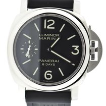 Panerai Luminor Marina 8 Days Power Reserve Stainless Steel