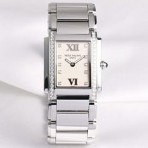 Patek Philippe Twenty-4 4910/10 Diamond Dial & Bezel