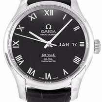 Omega 431.13.41.22.01.001 De Ville Date-Day Men's Black...