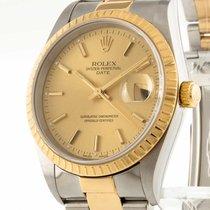 Rolex Oyster Perpetual Date Edelstahl/Gold Ref. 15233