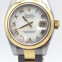 Rolex Datejust 26 White Mother Of Pearl Stainless Steel &...
