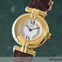 Cartier Lady Must De Vermeil Damenuhr Ronde Designklassiker