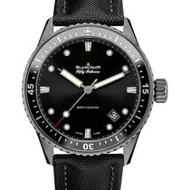 Blancpain 5000-0130-B52A Fifty Fathoms Bathyscaphe Automatic...
