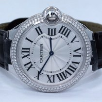 Cartier Ballon Bleu We902056 18k White Gold 40mm Factory...