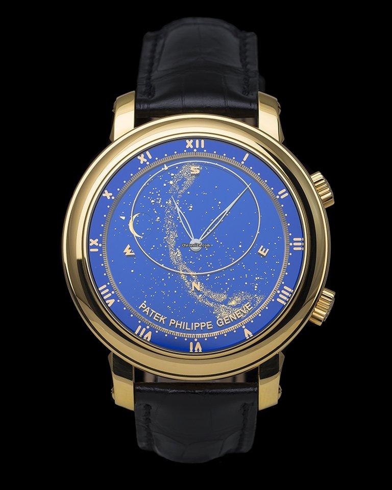 69e4fdd0ee1 Patek Philippe Celestial Sky Moon por 169.000 € para vender por um Seller  na Chrono24