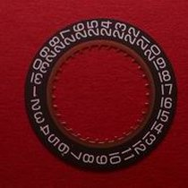 ETA Datumsscheibe, Kaliber 255.441, weiße Schrift auf schwarze...