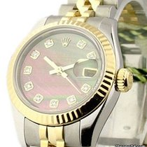 Rolex Datejust, Ref. 179173 - schwarz Perlmutt Dia. ZB/Jubilee...