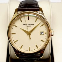 Patek Philippe 5227J Men Calatrava 18K Yellow Gold  Automatic...