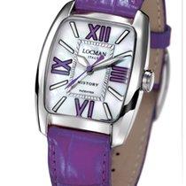 Locman History 488N00MWFVT0PSV Pearl Violet Quartz Ladies