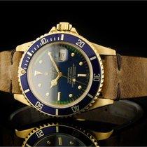 Rolex Submariner (40mm) Ref.: 16808 in Gelbgold aus 1981...