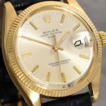 Rolex Oyster Perpetual  Date SCOC 18k gold case gent's...