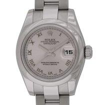 Rolex - Ladies Datejust : 179160 silver Rhodium dial on Heavy...