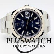 Rolex Datejust 116334 BLUE DIAL 18ct 41mm 2013 3489