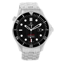 Omega Seamaster 300m Black Wave Dial Mens Watch 212.30.41.61.0...
