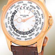 """Patek Philippe Gent's 18K Rose  """"World Timer""""..."""