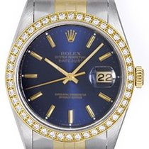 Rolex Men's 2-Tone Steel & Gold Rolex Datejust Watch...