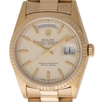 Rolex : Day-Date President :  18238 :  18k Gold : 'Anniver...