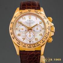 Rolex Daytona 16518  18K Gold Mother of Pearl Dial  Box