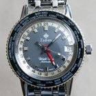 Zodiac Vintage World Time Sea Wolf Automatic