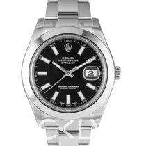 Rolex Datejust II Black/Steel Ø41mm - 116300