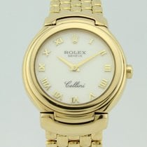 Rolex Cellini Quartz Full 18K Gold Lady 6621-8