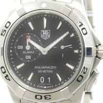 TAG Heuer Polished Tag Heuer Aquaracer Grand Date Alarm Quartz...