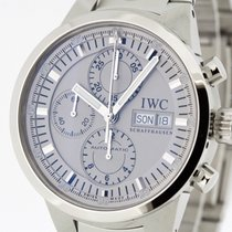 IWC GST Chronograph Rattrapante Watch 3715 Box & Papers 2001