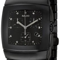 Rado Sintra Black Chronograph Men's Watch