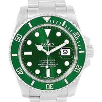 Rolex Submariner Hulk Green Dial Ceramic Bezel Mens Watch...