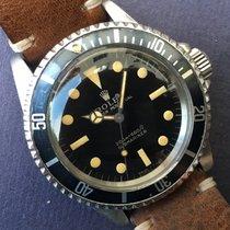 Rolex 1966 Submariner 5513 Mirror Gilt Long 5