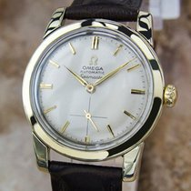 Omega Seamaster 1960 Swiss Made Bumper Auto Men Vintage Gold...