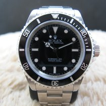 Rolex SUBMARINER 14060M Black Dial Black Bezel Mint