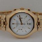 Tiffany Tesoro Chronograph Quartz 18K Yellow Gold 37mm Watch