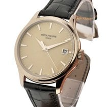 Patek Philippe 5227G-001 5227G Calatrava - White Gold on...