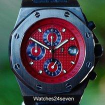 오드마피게 (Audemars Piguet) Royal Oak Offshore Chronograph Red PVD...